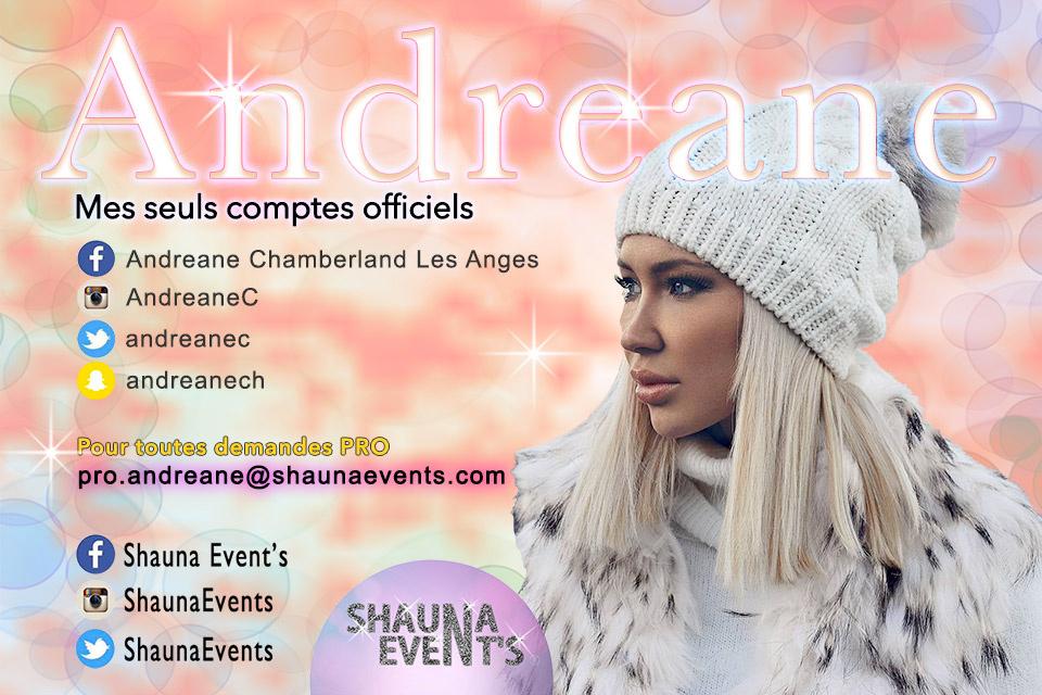 Andréane Chamberland / Shauna Events 2016