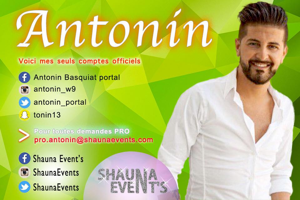 Antonin Basquait / Shauna Event's 2016