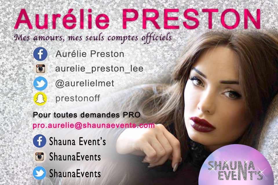 Aurélie Preston / Shauna Event's 2016