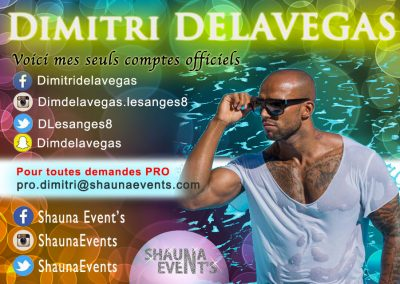 Dimitri Delavegas / Shauna Event's 2016