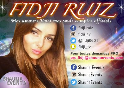 Fidji Ruiz / Shauna Events 2016