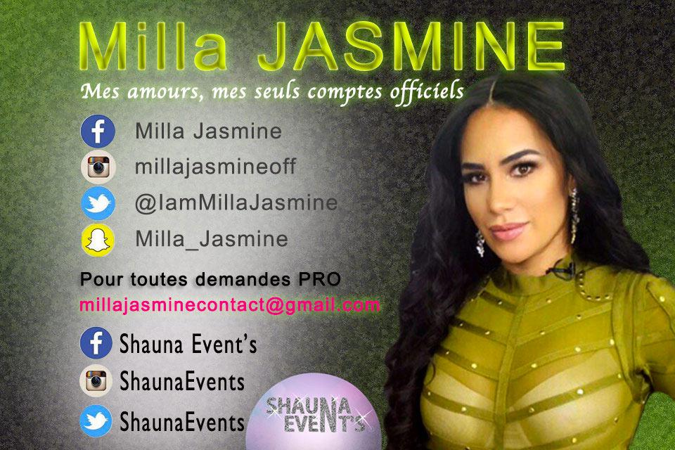 Milla Jasmine / Shauna Event's 2016