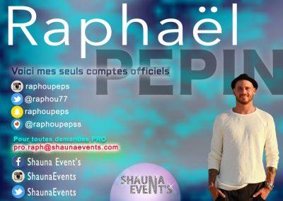 Raphaël Pepin / Shauna Event's 2016