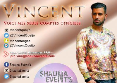 Vincent Queijo / Shauna Event's 2016